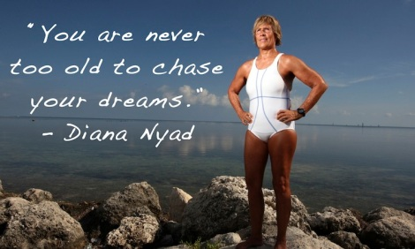 Diana Nyad Never Too Old